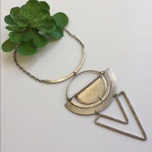 Antique Silver Art Deco Necklace